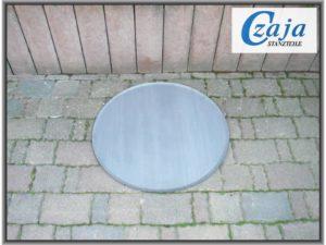 Feuerschale Bodenplatte Ø 80 cm